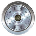 Combination lock for safe Stock Photo
