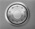 Combination lock wheel Royalty Free Stock Photo