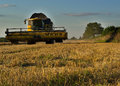 Combine harvester Royalty Free Stock Photo