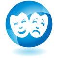 Comedy Masks Royalty Free Stock Photo