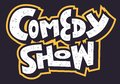 Comedy Show Hand Drawn Lettering Type Design Vector Image.
