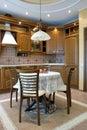 Comfortabele keuken 3 Stock Afbeeldingen
