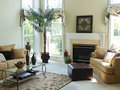 Comfortable Family Room Royalty Free Stock Photo