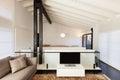 Comfortable loft interior modern furniture Royalty Free Stock Photo