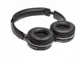 Comfortable wireless headphones open type Royalty Free Stock Photo