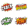 Comic Action Words!