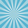 Comic background. Blue Sunburst pattern. Sun rays abstract backdrop. Vector. Royalty Free Stock Photo