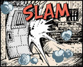 Comic book - Slam Royalty Free Stock Images