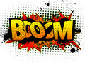 Comic Book Word - Booom Stock Images