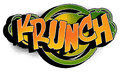 Comic Book Word - krunch Stock Photo