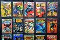 Comic Books of several Marvel Super-Heroes