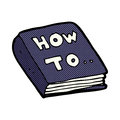 comic cartoon how to book