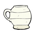 Comic cartoon old style mug retro book Stock Photo