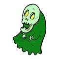 comic cartoon spooky ghoul Royalty Free Stock Photo