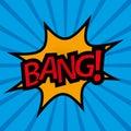 Comic Sound Effect BANG! - Vector Illustration