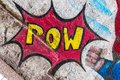 Cartoon Pop Art POW