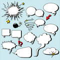 Comic speech bubbles. Stock Photography