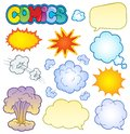 Comics elements collection 1 Royalty Free Stock Photo