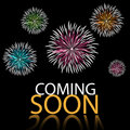 Coming soon background Royalty Free Stock Images