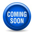 Coming soon button Royalty Free Stock Photo