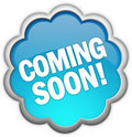 Coming soon icon Stock Photography