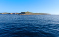 Comino malta island located in the channel between and gozo Stock Photos
