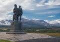 Commando Memorial in Spean Bridge Scotland