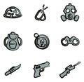 Commandos Icons Freehand 2 Color