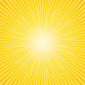 Commercial sunburst background beautiful yellow Royalty Free Stock Photo