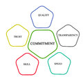 Commitment and management
