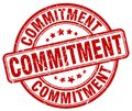 commitment red stamp