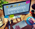 Commodities Demand Distribution Economy Concept