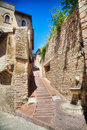 Common Italian street of old city Royalty Free Stock Images
