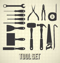 Common Tool Collection Stock Photography