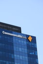 Commonwealth Bank logo Stock Image