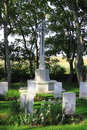 Commonwealth war cemetery nes ameland holland x x general contains the graves of casualties Royalty Free Stock Image