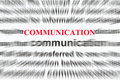 Communication Stock Image
