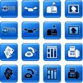 Communication buttons Royalty Free Stock Photo