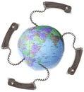 Communication globalization Royalty Free Stock Photo