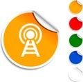 Communication  icon. Royalty Free Stock Photo