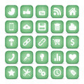 Communication icons web icons set internet icons collection Royalty Free Stock Photos