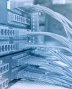 Communication and internet network server Stock Photography