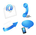 Communication objects Royalty Free Stock Photography
