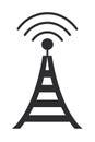 communications antenna icon