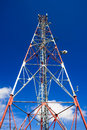 Communications GSM tower, Romania Royalty Free Stock Photo