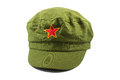 Communist cap red star on the Royalty Free Stock Images
