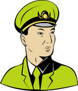 Communist  Chinese general Royalty Free Stock Photo