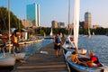Community Boating, Boston Royalty Free Stock Photo