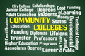 Community Colleges Royalty Free Stock Photo
