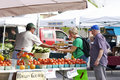 Community Farmers' Market Royalty Free Stock Photos